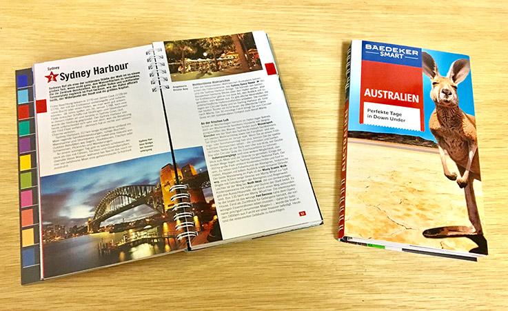 """Der Baedeker smart """"Australien: In zweiter Auflage am 21. August 2017 erschienen."""
