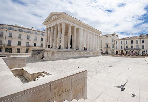 Die Maison Carrée von Nîmes