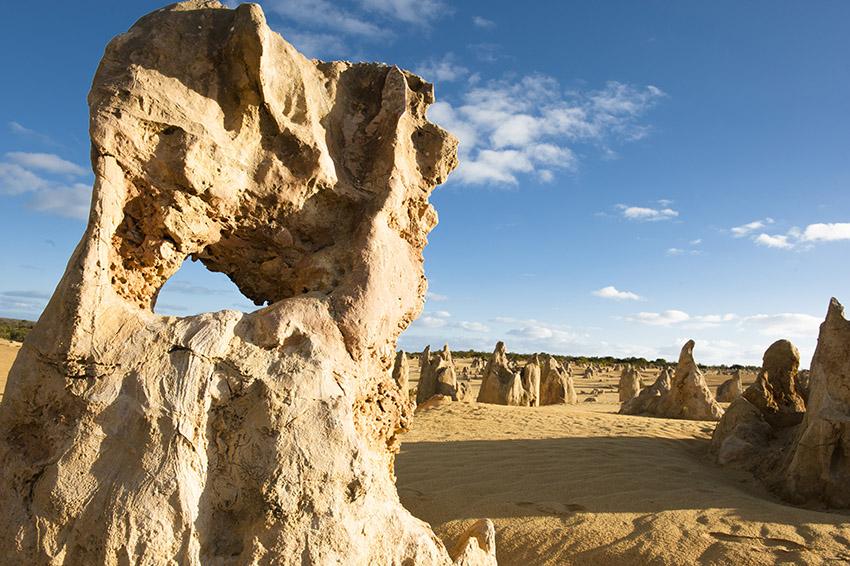 Die Pinnacles von Westaustralien