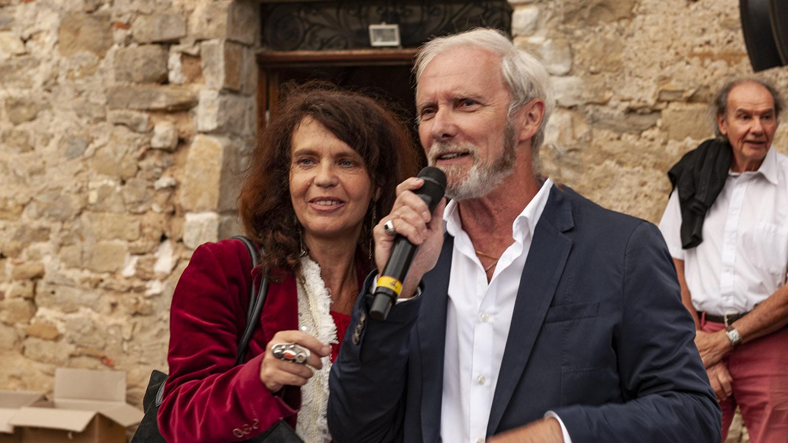 Festival du Film Insolite: Fany Bastien und Geoffroy Thiebaut. Foto: Hilke Maunder