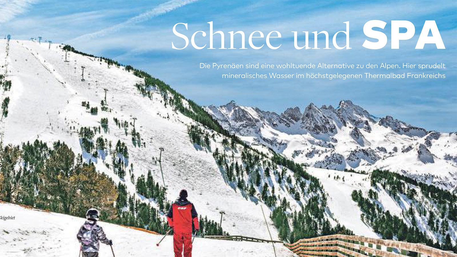 Die Welt_Schnee und Spa
