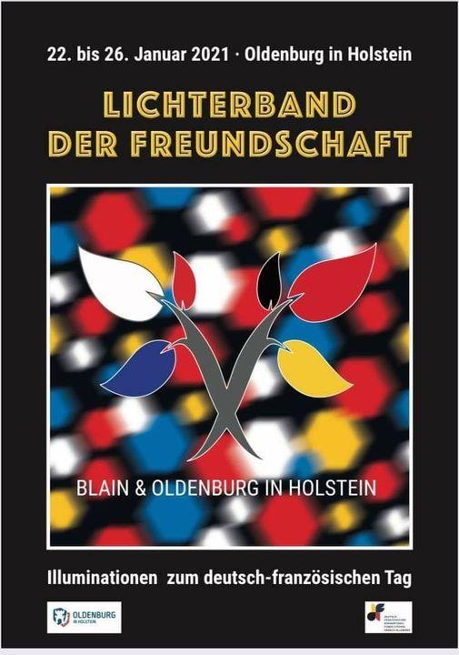 Lichterband der Freundschaft, Oldenburg in Holstein 2021