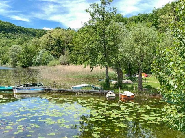 Der Lac de Barterand im Bas-Bugey. Foto: Hilke Maunder